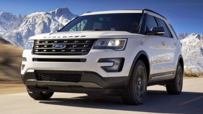 Укроссоверов Ford Explorer выявлена проблема срейлингами