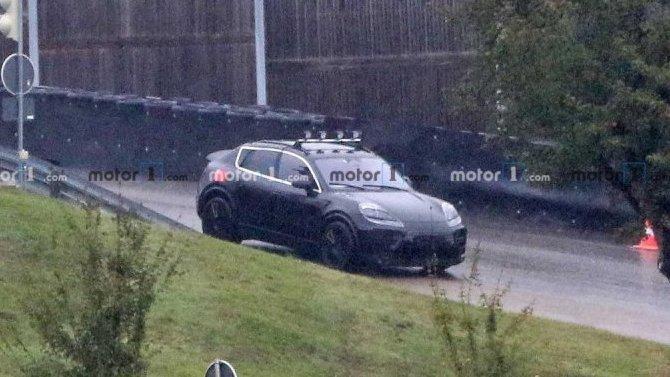 Электрокроссовер Porsche MacanEV: появились некоторые подробности