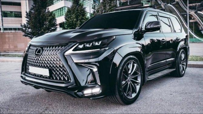 Скоро будет представлен внедорожник Lexus LX нового поколения