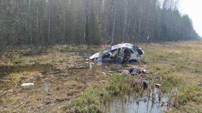 Пожилой водитель погиб в ДТП в Вологодской области