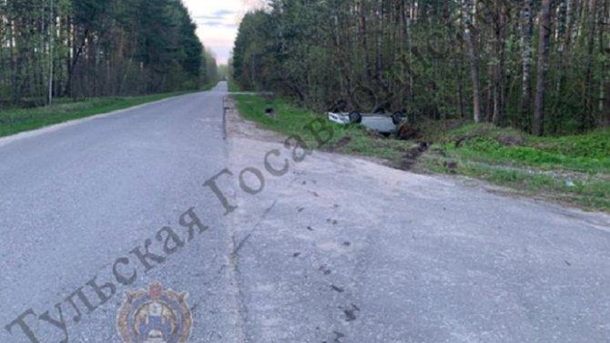 Ребенок пострадал в ДТП в Суворовском районе Тульской области