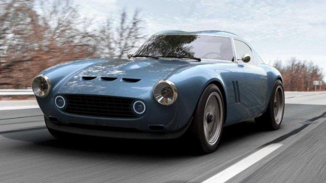 ВВеликобритании создали ретро-спорткар витальянском стиле