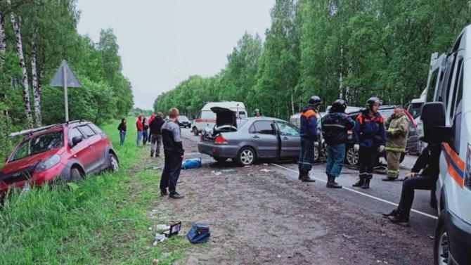 Четыре человека погибли в ДТП в Борском районе Нижегородской области