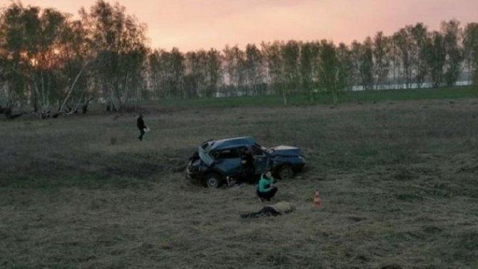 Многодетная мать погибла в ДТП в Новосибирской области