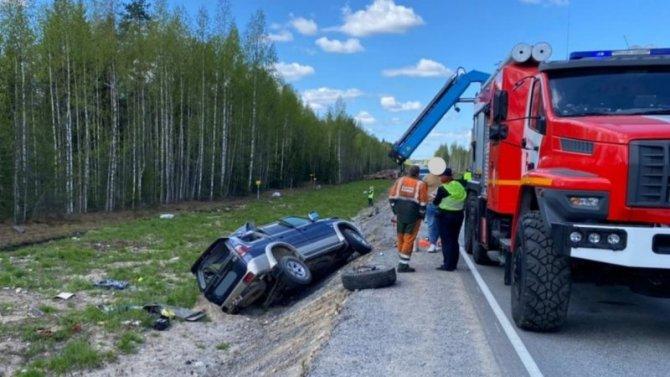 Две женщины погибли в ДТП на севере Карелии