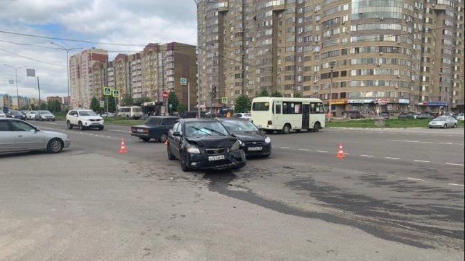 17-летний подросток пострадал в ДТП в Курске