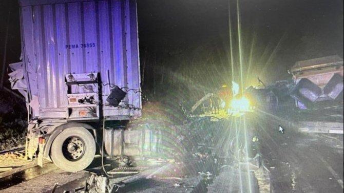 В ДТП с грузовиками под Миассом погиб человек