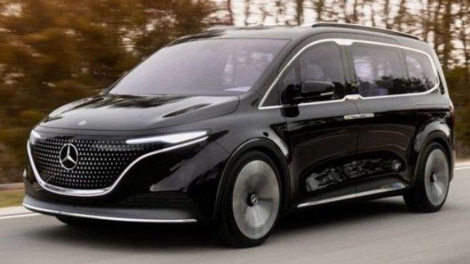 Представлен прототип электрического минивэна Mercedes-Benz EQT