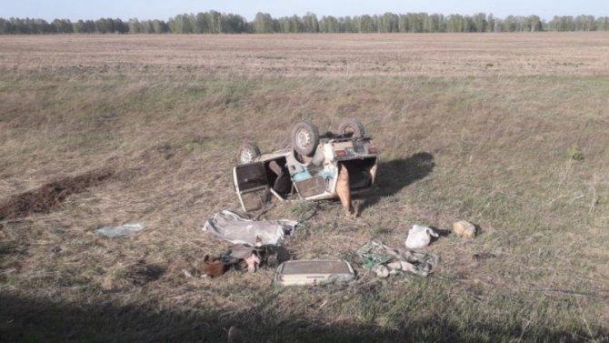 Мужчина погиб в ДТП на трассе в Новосибирской области