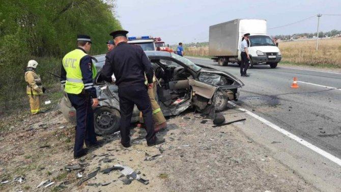 По вине пьяного водителя в ДТП в Ульяновской области погиб человек