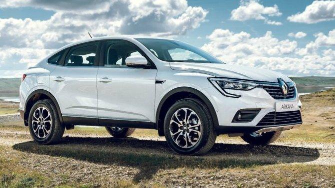 Кроссовер Renault Arkana получил новую топовую комплектацию