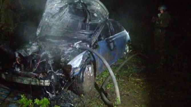 Пассажир иномарки погиб в ДТП в Кашинском районе Тверской области