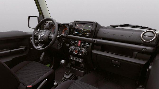 Suzuki Jimny салон