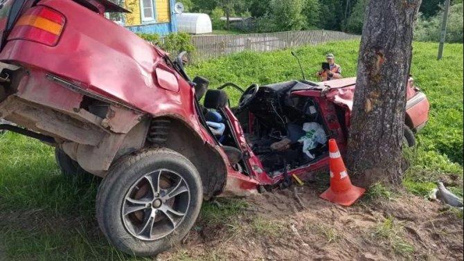Три человека погибли в ДТП в Куньинском районе Псковской области