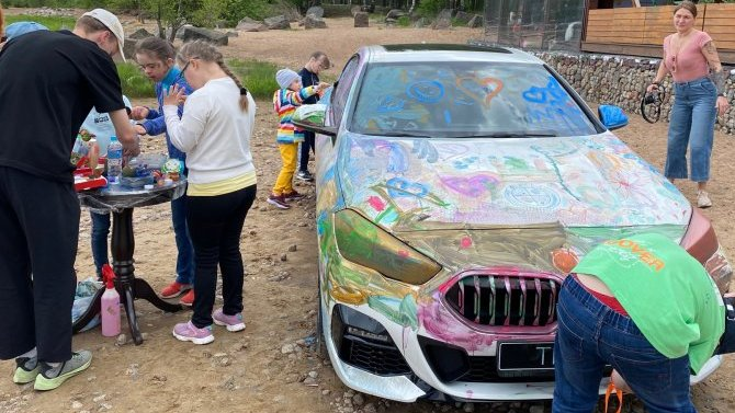 АВТОDOM BMW Санкт-Петербург – участник Дня спорта, игр и развлечений для детей с синдромом Дауна