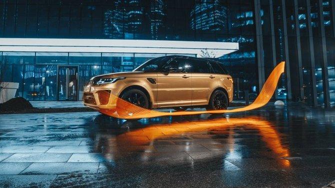 Самый быстрый Range Rover Sport  - в АВИЛОН ЛЕГЕНДА!