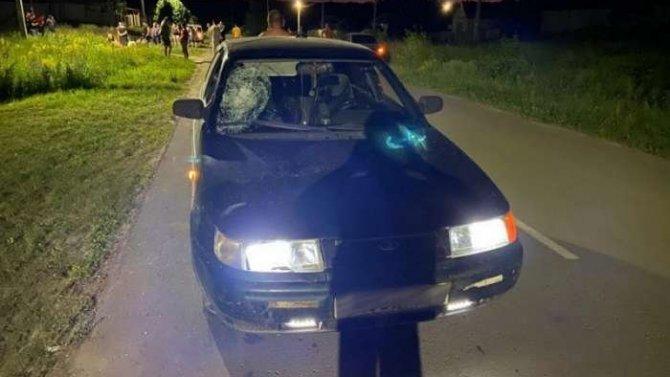 В Волгоградской области пьяный водитель сбил двух подростков
