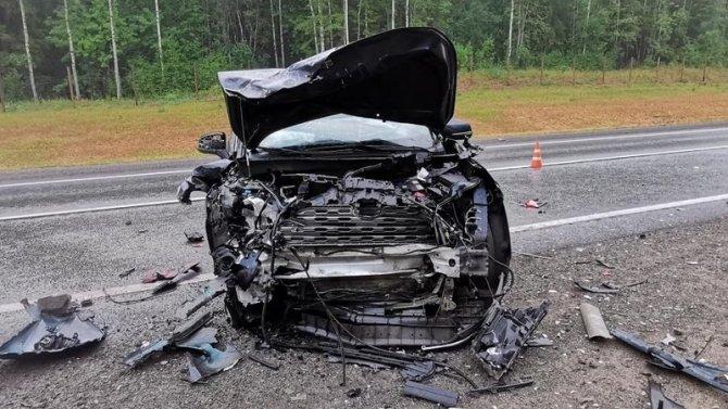 В ДТП в Шекснинском районе Вологодской области погиб человек