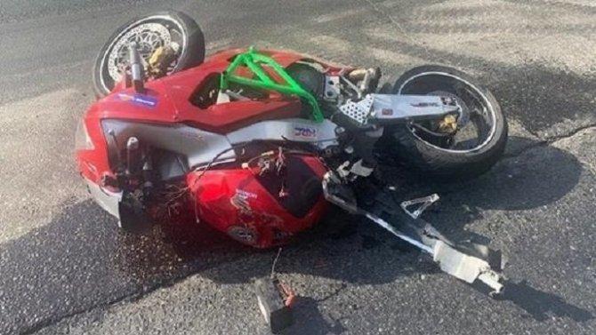24-летний мотоциклист погиб в ДТП в Иркутской области