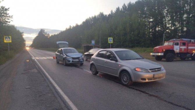 Двое детей пострадали в ДТП с пьяным водителем в Ижевске