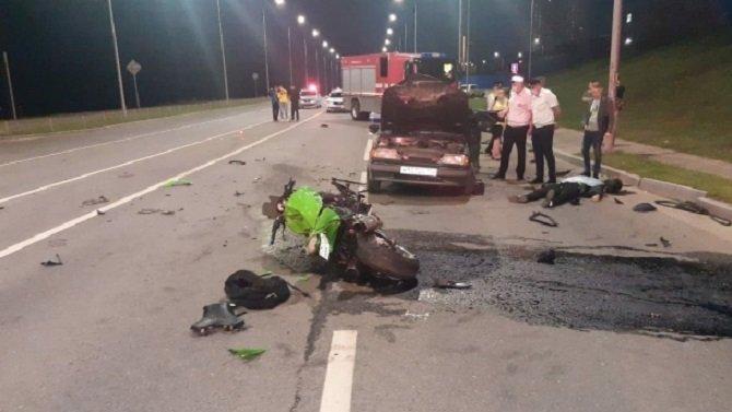 Два водителя погибли в ДТП с мотоциклом в Волгограде