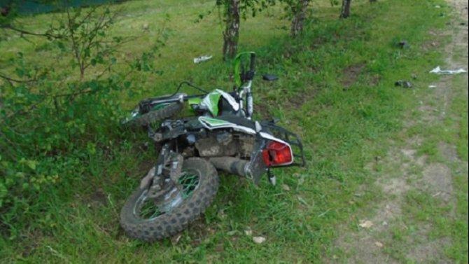 Мотоциклист погиб в ДТП в Ряжском районе Рязанской области