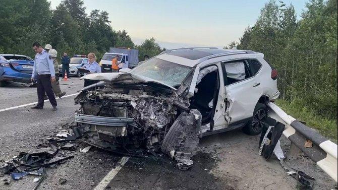 В ДТП в Свердловской области погиб человек