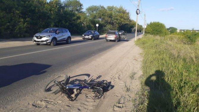 В Твери пьяный водитель сбил велосипедиста