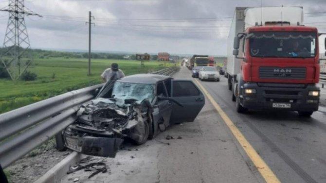 Два человека пострадали в ДТП на трассе «Дон»