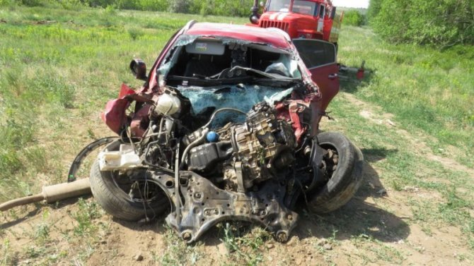 В ДТП с нефтевозом в Ташлинском районе погиб человек