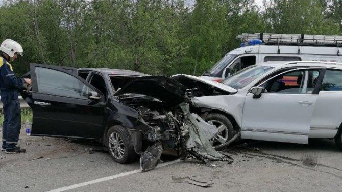 Два человека погибли в ДТП под Нижним Тагилом по вине пьяного водителя