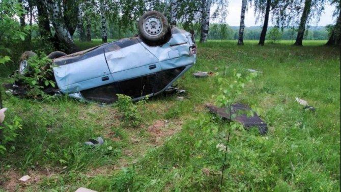 В ДТП в Марий Эл погиб водитель без прав