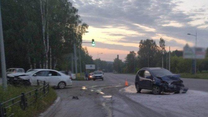 Пять человек пострадали в ДТП в Ижевске