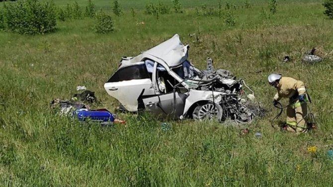 В ДТП в Курганской области погиб человек