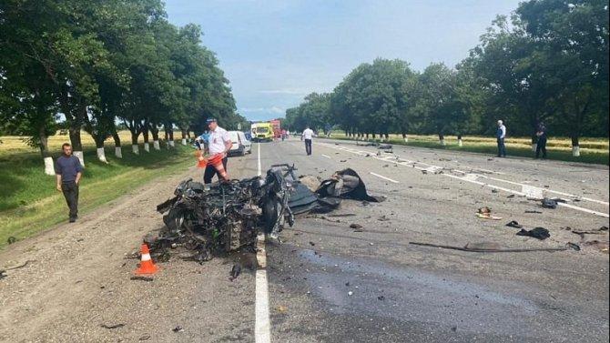Ребенок погиб в ДТП в Успенском районе Краснодарского края