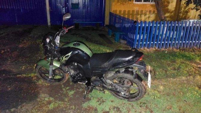 В Ишимском районе пьяный мотоциклист сбил 4-летнего ребенка