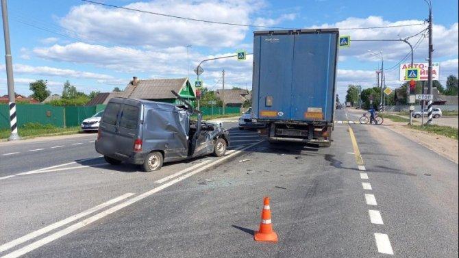 В Тверской области женщина погибла в ДТП по вине пьяного водителя