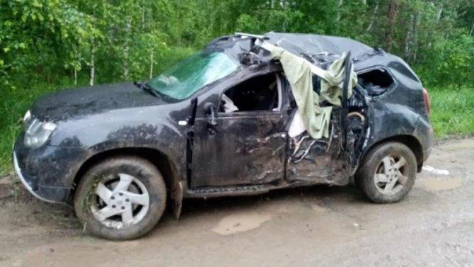 Женщина погибла в ДТП под Новосибирском