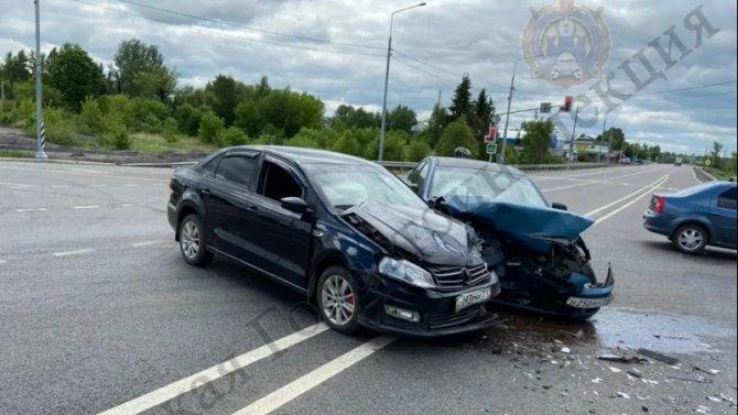 Четыре человека пострадали в ДТП в Богородицком районе Тульской области