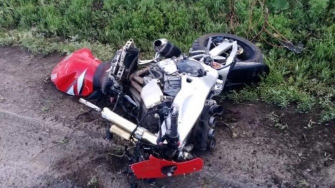 Молодой мотоциклист погиб в ДТП под Новосибирском