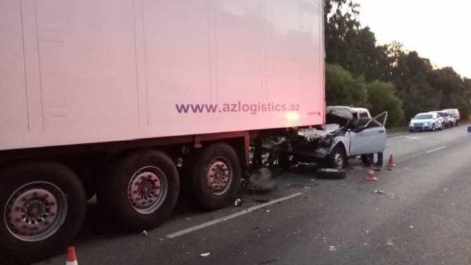 В ДТП под Брянском погибли два человека