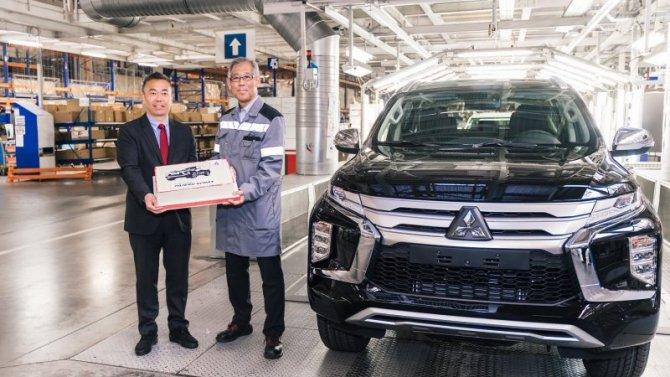 ВКалуге начали собирать новый Mitsubishi Pajero Sport