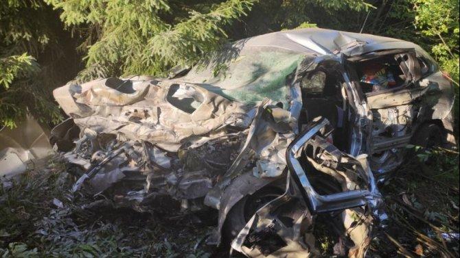 В ДТП под Березниками Пермского края погибли два человека