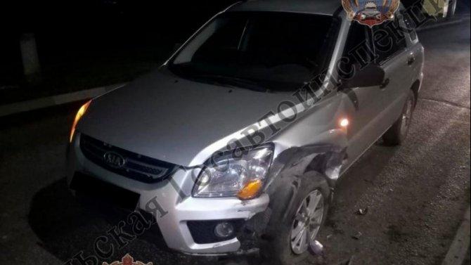 5-летний ребенок пострадал в ДТП в Туле