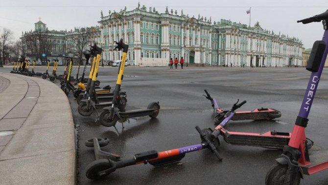 ВСанкт-Петербурге проходят обыски вофисах сервисов проката электросамокатов