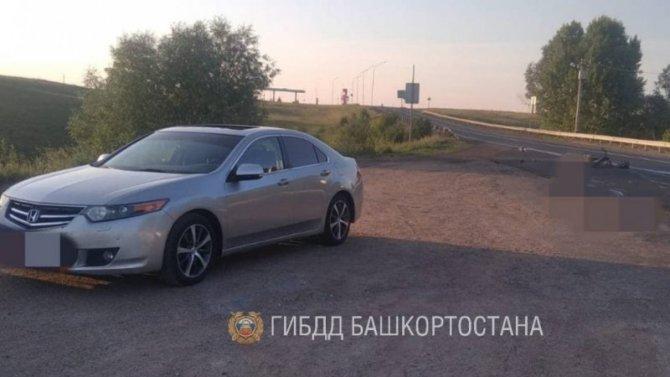 Водитель мопеда погиб в ДТП в Башкирии