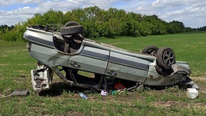 В Омской области по вине пьяного водителя пострадали четыре человека
