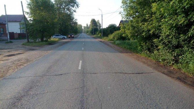 В Воткинске водитель сбил ребенка на велосипеде и скрылся
