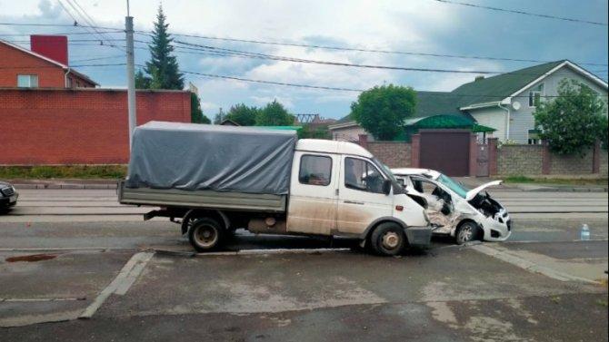 В ДТП с «Газелью» в Магнитогорске погиб человек