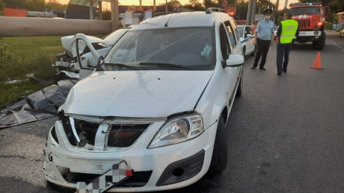 22-летний водитель погиб в ДТП в Курске